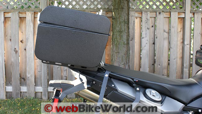 Micatech Top Case on BMW F800GS