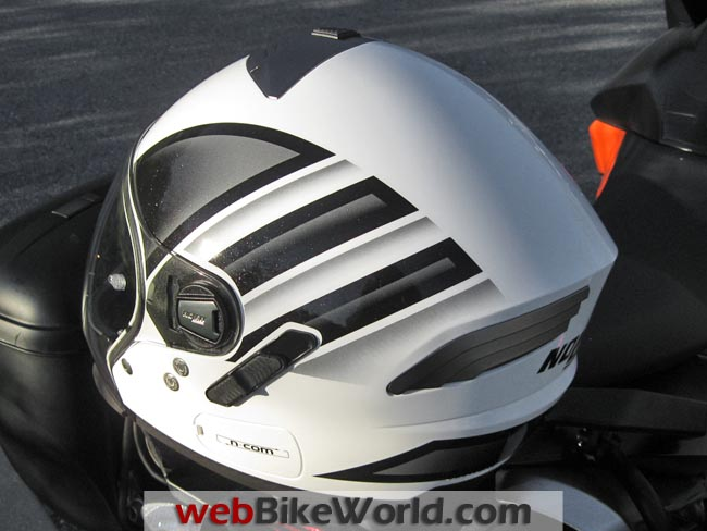 Nolan N43E Helmet Rear View