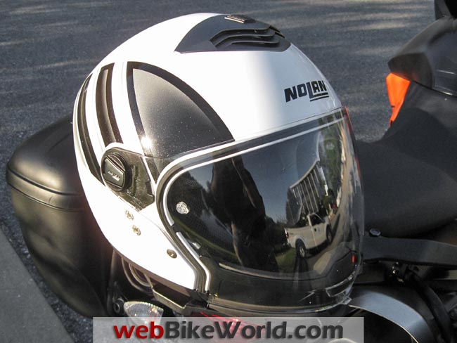 Nolan N43E Helmet Top View