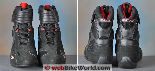 TCX X-Cube Boots Front Rear Views