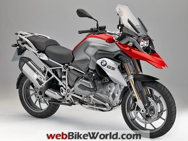 2013 BMW R1200GS Right Front
