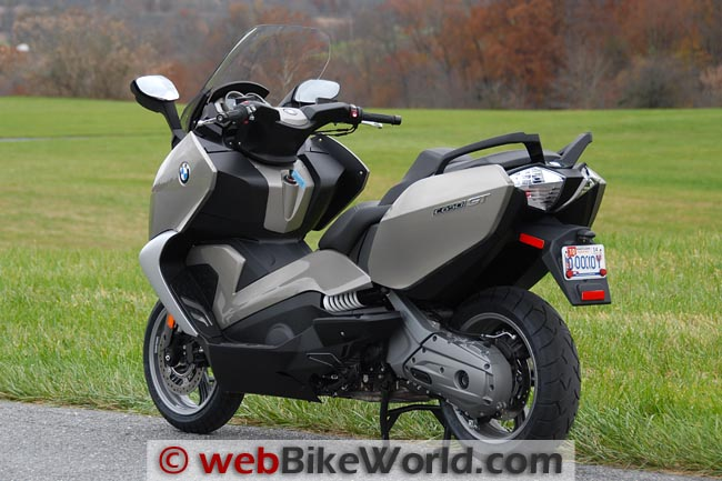 BMW C 650 GT Left Rear