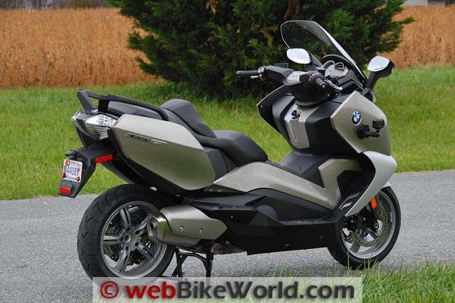 BMW C 650 GT Right Rear