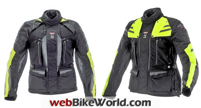 Clover Crossover Airbag Jacket Front Views