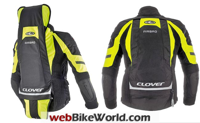 Clover Crossover Airbag Jacket Rear