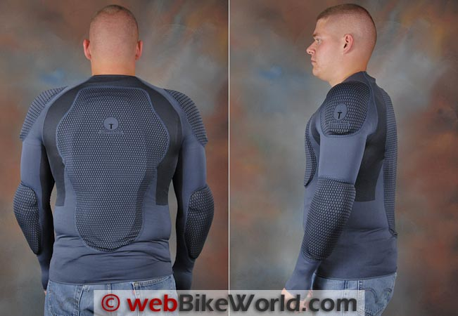 Forcefield Pro Shirt Rear Side Views