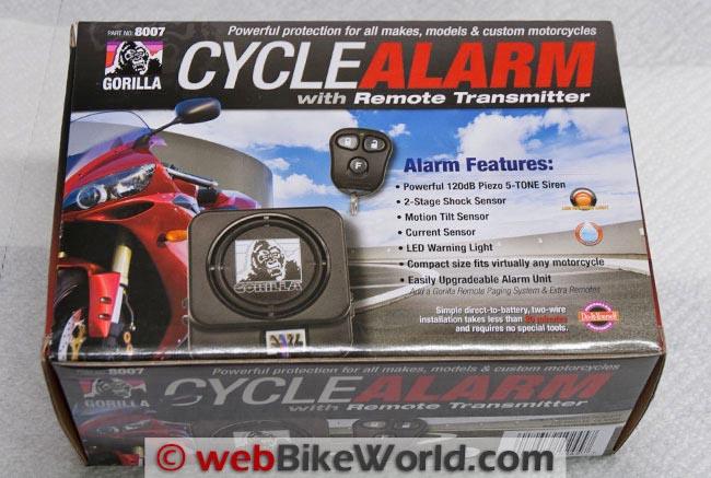 Gorilla 8007 Alarm Box