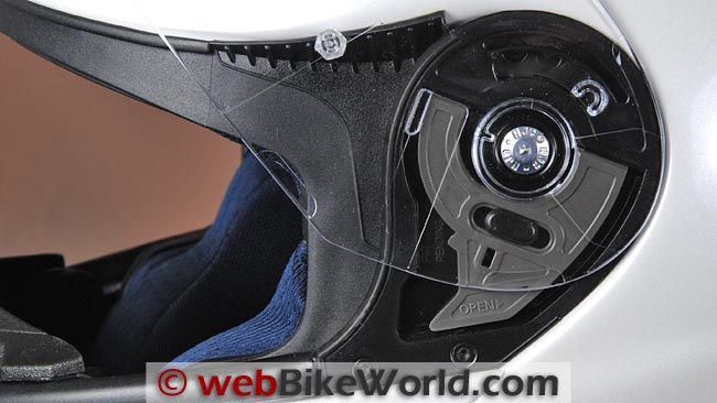 HJC RPHA Max Face Shield Release