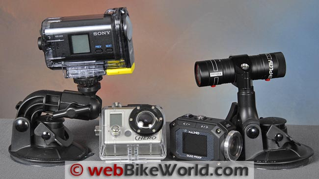 Sony Action Cam Size Comparison