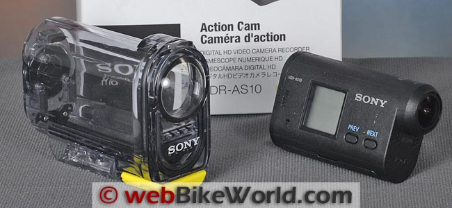 Sony Action Cam With Waterproof Housing