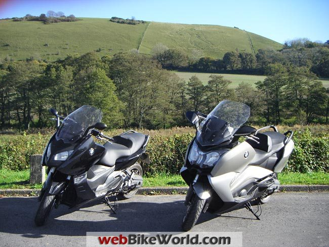 BMW C 650 GT vs. C 600 Sport Front View
