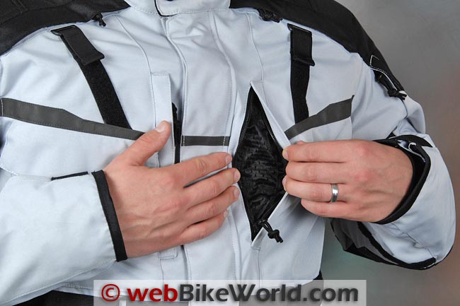 Firstgear Jaunt T2 Jacket Front Vent