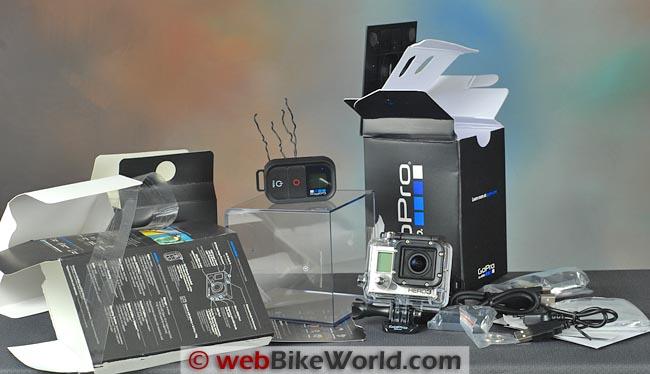GoPro Hero3 Black Edition Kit Packaging