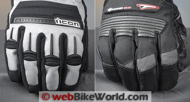 Icon PDX vs. Teknic Tornado Gloves Fingers
