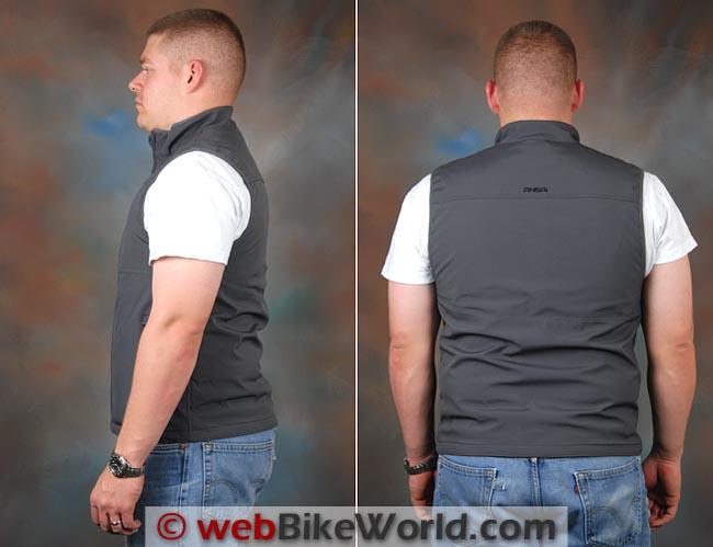 Mobile Warming Longmen Shirt Side Rear Views