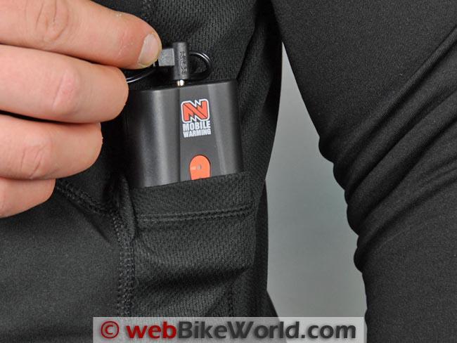 Mobile Warming Longmen Shirt Battery