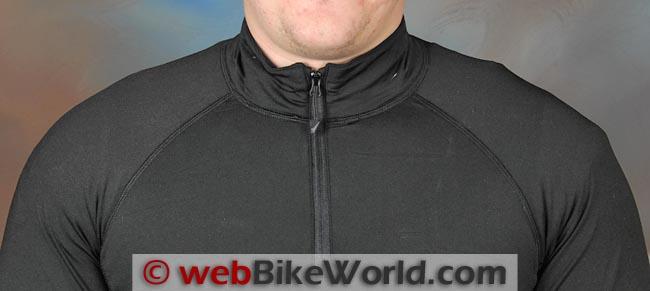 Mobile Warming Longmen Shirt Collar