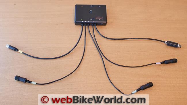 BikeComm BK02 Intercom Control Module With Leads