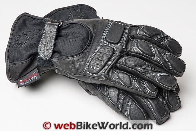 Joe Rocket Nitrogen Gloves Full View Pair