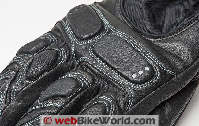 Joe Rocket Nitrogen Gloves Knuckle Protection