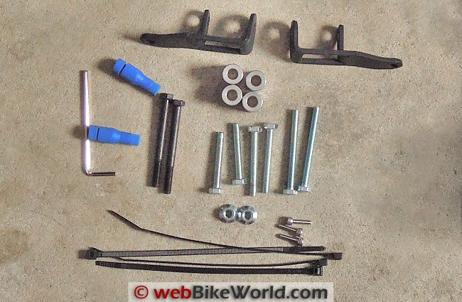 M5 Hardware Mounting Kit Contents
