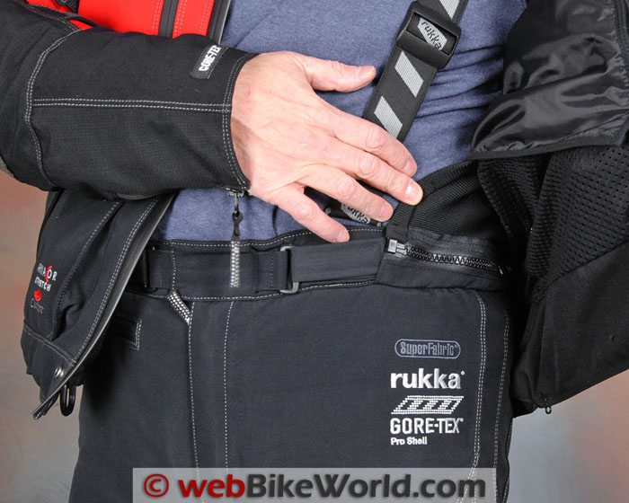 Rukka Armas Pants Jacket Attachment