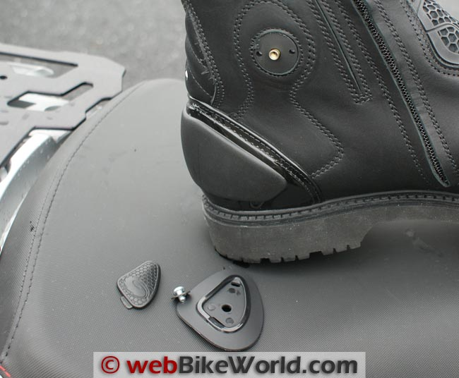 Sidi Armada Boots Mounting Screw Problem