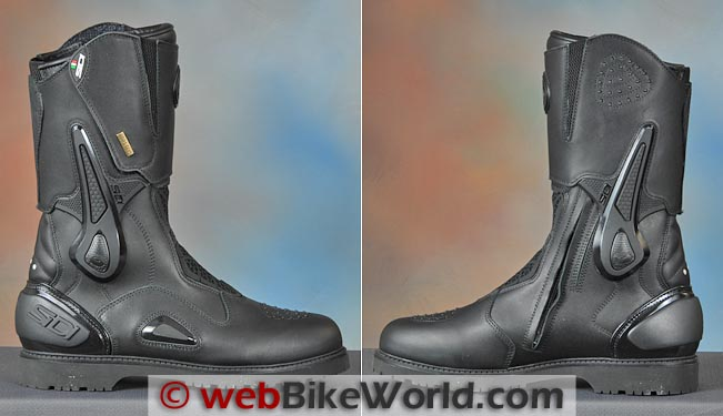 Sidi Armada Boots Side Views