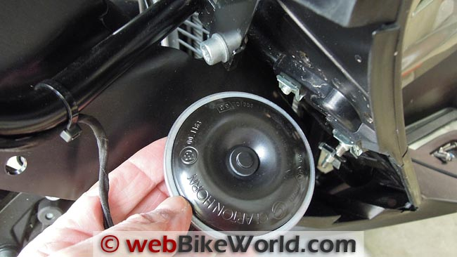 Stock BMW Scooter Horn