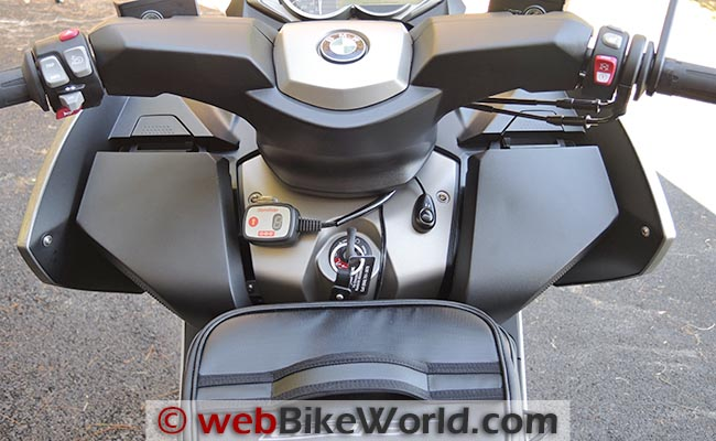 BMW C 650 GT Tunnel Bag Blocking Storage Compartment