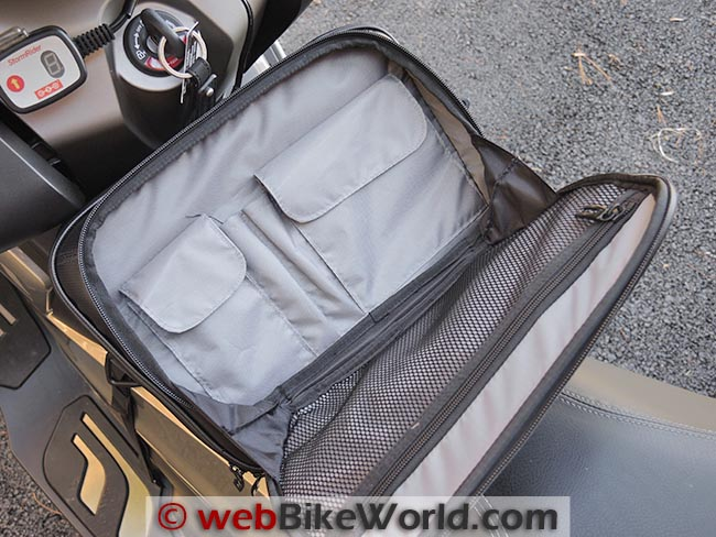 BMW C 650 GT Tunnel Bag Inside Top Pocket