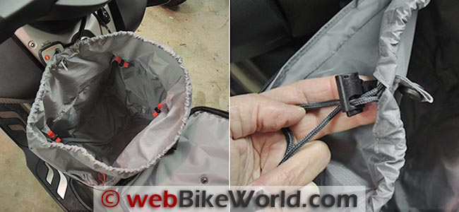 BMW C 650 GT Tunnel Bag Liner Details