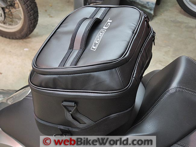 BMW C 650 GT Tunnel Bag Side View
