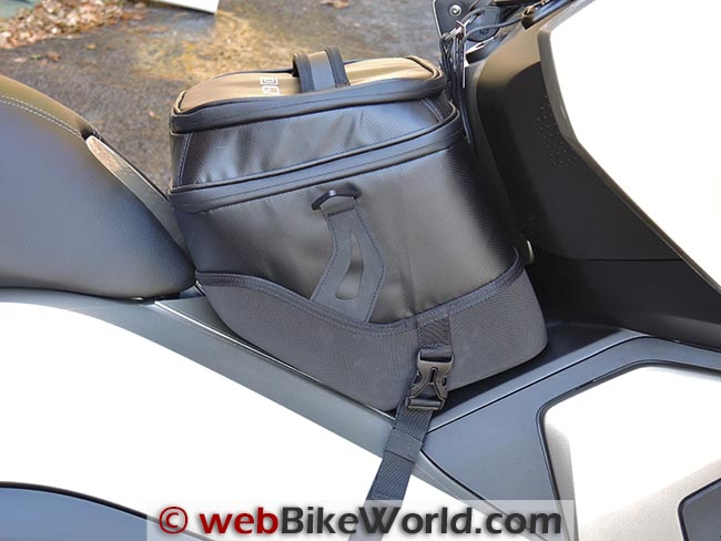 BMW C 650 GT Tunnel Bag Strap Angle