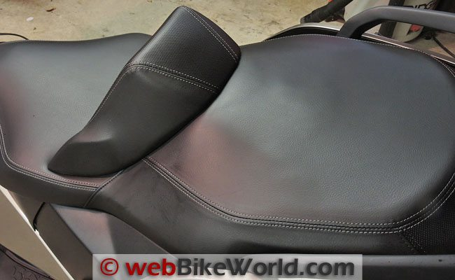 BMW Scooter Seat Alternate View
