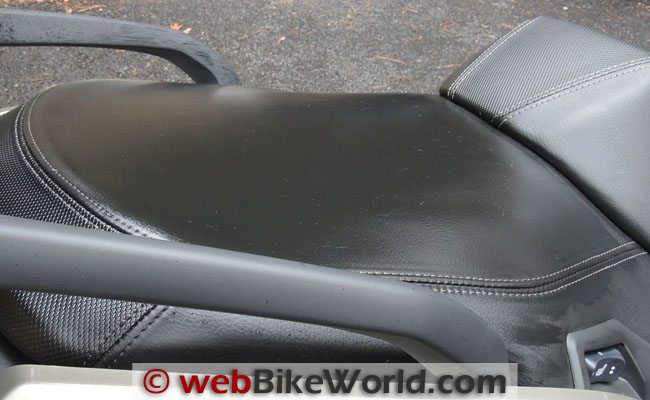 BMW Scooter Seat Drying