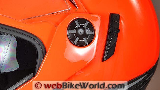 Nexx X30V Helmet Visor Removal