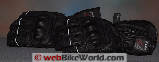 Rukka R-Star Gloves Reflectivity