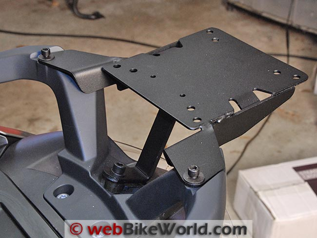 SHAD BMW Scooter Mounting Bracket Top