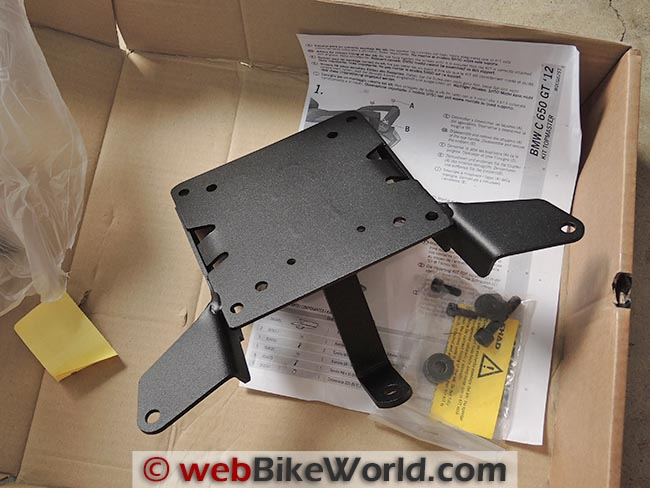 BMW Scooter Mounting Bracket