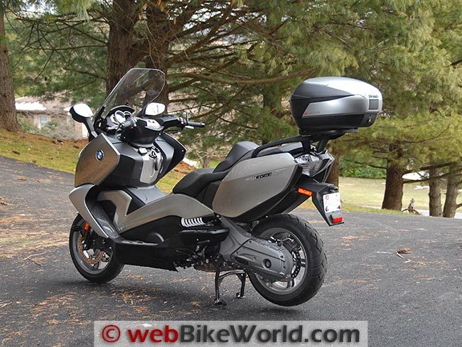 SHAD SH48 on BMW Scooter