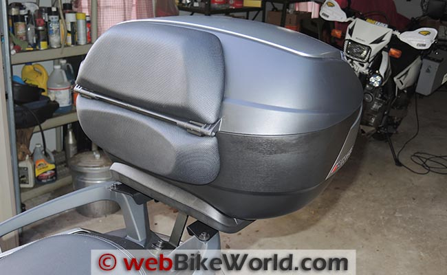 SHAD SH48 Top Case With Backrest