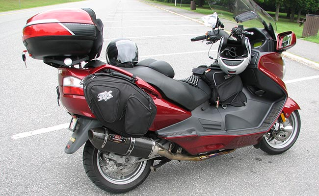 Suzuki Burgman Tunnel Bag