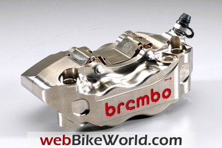 Brembo Nickel Finish Brake Caliper