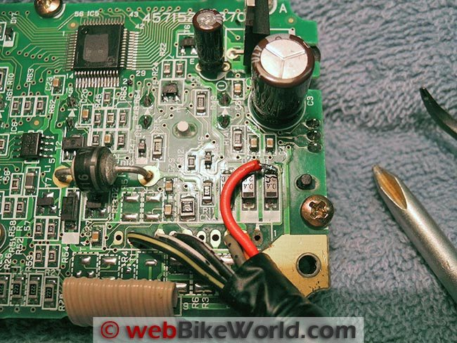 Circuit Board After Repair