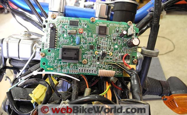 Circuit Board Back During Test