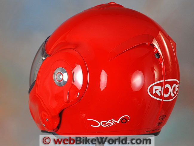 Roof Desmo Helmet Rear View
