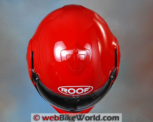 Roof Desmo Helmet Top View