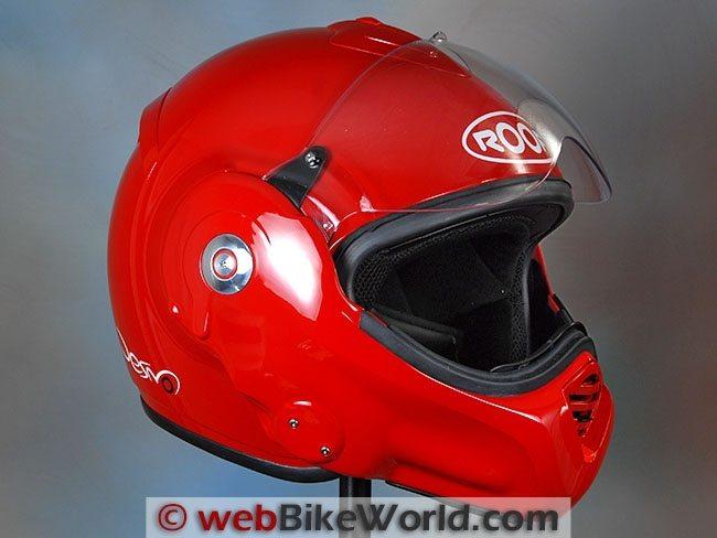 Roof Desmo Clear Anti-Fog Helmet Visor Shield