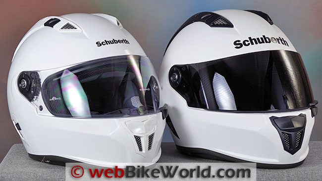 SCHUBERTH SR1 DOT vs ECE Front